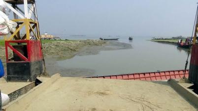 জৌকুড়া-নাজিরগঞ্জ রুটে ফেরি চলাচল শুরু