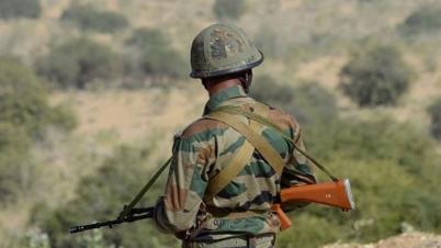 জঙ্গি হানায় এক ভারতীয় সেনা অপহৃত