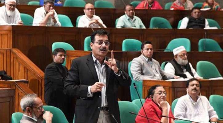 খালেদার 'মুক্তি প্রস্তাব' সংসদে তুলছেন সংসদ সদস্য  হারুন