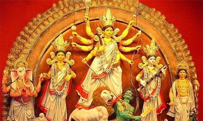 শারদীয় দুর্গোৎসবের মহানবমী আজ