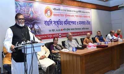জঙ্গিবাদ দমন করতেই হবে :  মোজম্মেল হক