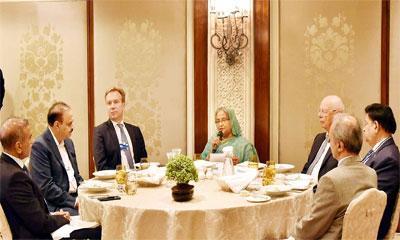 ভারতীয় উদ্যোক্তাদের বাংলাদেশে বিনিয়োগ আহ্বান প্রধানমন্ত্রীর