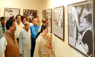 'শেখ হাসিনা বাংলাদেশের স্বপ্নসারথি'র শীর্ষক প্রদর্শনীর উদ্বোধন