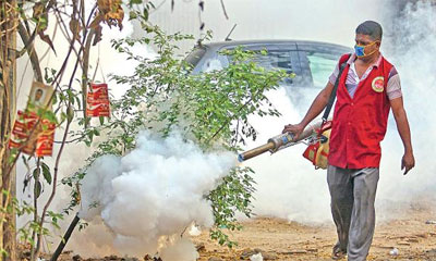 'সময়মতো মশার ওষুধ না কেনার দায় সরকার এড়াতে পারে না'