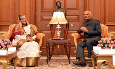 উন্নয়নশীল দেশগুলোর জন্য বাংলাদেশ রোল মডেল : ভারতীয় রাষ্ট্রপতি