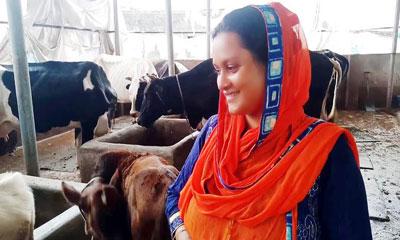 বগুড়ায় গ্রামীণ অর্থনীতিতে নারীদের ম্যাজিক