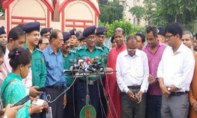 নিরাপত্তাবলয়ে থাকবে রাজধানীর পূজামণ্ডপ: ডিএমপি কমিশনার