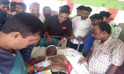 ঝিনাইদহে সড়ক দুর্ঘটনায় দুই সাংবাদিক আহত
