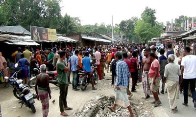 জয়পুরহাটে ওয়ার্কশপে ড্রাম বিস্ফোরণে শ্রমিক নিহত