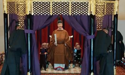 জাপানের সম্রাট নারুহিতোর বর্ণাঢ্য অভিষেক আজ