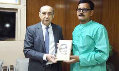 নৌ প্রতিমন্ত্রীর সাথে আজারবাইজানের রাষ্ট্রদূতের সাক্ষাৎ