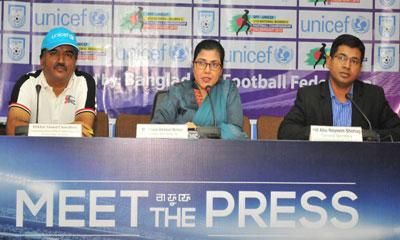 অনূর্ধ্ব-১৬ জাতীয় নারী ফুটবলের চূড়ান্ত পর্ব শুরু শনিবার