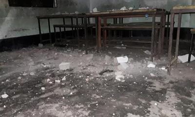 ব্রাহ্মণবাড়িয়ায় শ্রেণিকক্ষের প্লাস্টার ধসে শিক্ষক-শিক্ষার্থী আহত
