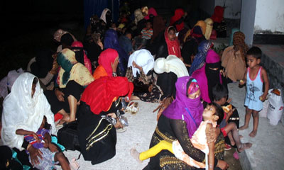 মালয়েশিয়াগামী শিশু ও নারীসহ ১১৫ রোহিঙ্গা উদ্ধার