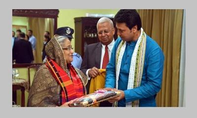 শেখ হাসিনা-বিপ্লব বৈঠক : ঢাকা-আগরতলা ফ্লাইট চালুর আলোচনা