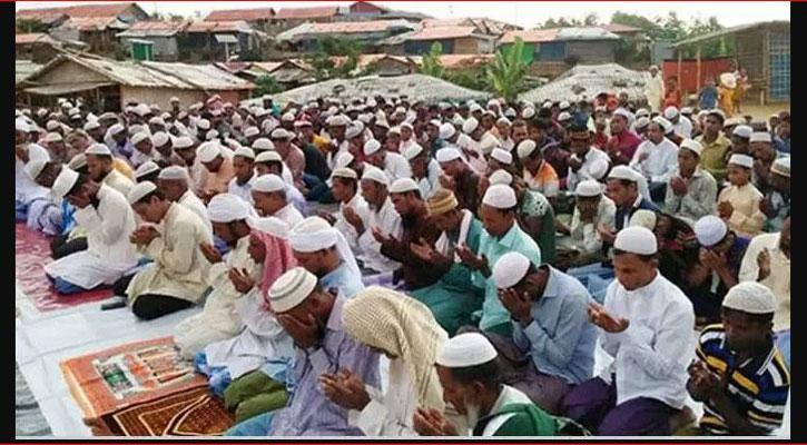 রোহিঙ্গা ক্যাম্পে আনন্দ-বেদনার ঈদ উদ্যাপন