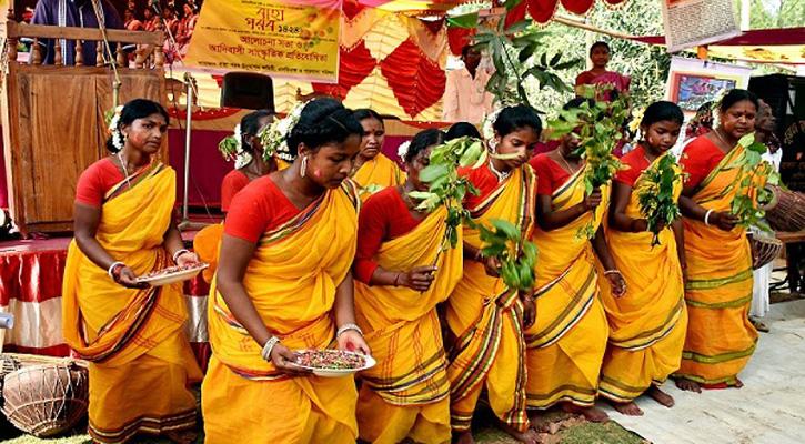 মুন্ডাদের বর্ষবরণ উৎসব সিরুয়া বিসুয়া