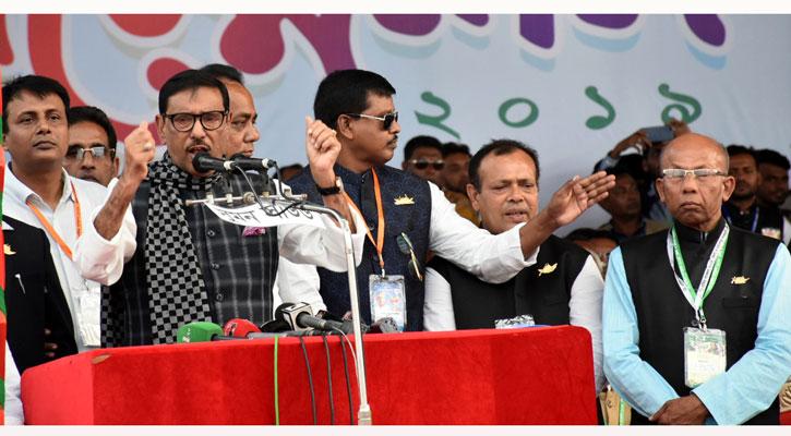 বিএনপির রাজনীতি চোরাবালিতে আটকে গেছে : ওবায়দুল কাদের