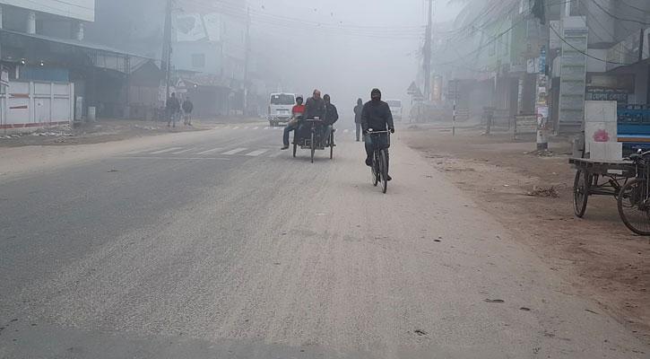 ৪ দিন ধরে দেশের সর্বনিম্ন তাপমাত্রা পঞ্চগড়ে