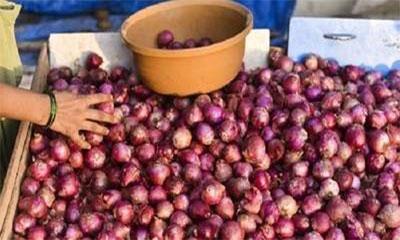 ভারতে ডাবল সেঞ্চুরি পেঁয়াজের