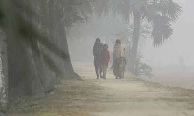 চুয়াডাঙ্গায় শৈত্যপ্রবাহ, তাপমাত্রা ৮.৪ ডিগ্রি সে.