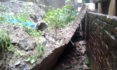 ময়মনসিংহে দেয়াল ধসে নির্মাণ শ্রমিক নিহত