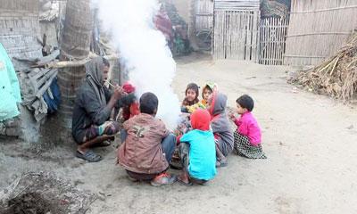 চুয়াডাঙ্গায় ৮ ডিগ্রি সেলসিয়াসে নেমেছে তাপমাত্রা
