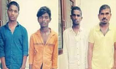 চিকিৎসক তরুণী হত্যাকারী ৪ জনকে গুলি করে হত্যা