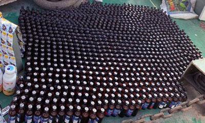 মোরেলগঞ্জে ২৫০ বোতল ফেনসিডিলসহ কার্গো আটক