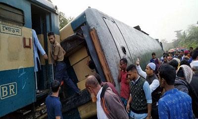 ব্রাহ্মণবাড়িয়ায় ট্রেন দুর্ঘটনায় হবিগঞ্জের ৫ জন নিহত