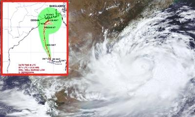 বঙ্গোপসাগরে দাপট বাড়াচ্ছে আন্দামানের 'বুলবুল' : উপকূলে সতর্কতা