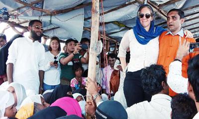 রোহিঙ্গা নেতা মহিবুল্লাহর অধিকার কমিটির অফিস বন্ধের নির্দেশ