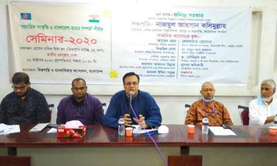 বাংলাদেশ-ভারতের সম্পর্ক অবিচ্ছেদ্য: আবেদ খান