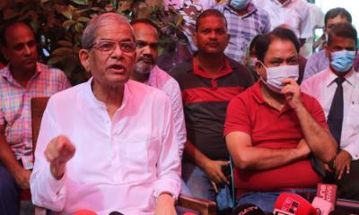 বেগম জিয়া গৃহবন্দী: মির্জা ফখরুল