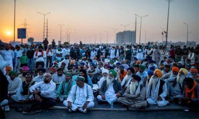 ভারতের বিতর্কিত কৃষি আইন স্থগিত
