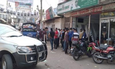 বিএনপি মেয়র প্রার্থীর বাসার সামনে 'ককটেল' বিস্ফোরণ
