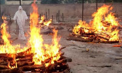 গত ২৪ ঘণ্টায় ভারতে চার হাজারের বেশি মৃত্যু