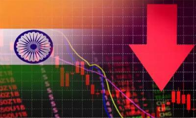 ৪০ বছরের মধ্যে ভারতে সর্বনিম্ন অর্থনৈতিক প্রবৃদ্ধি