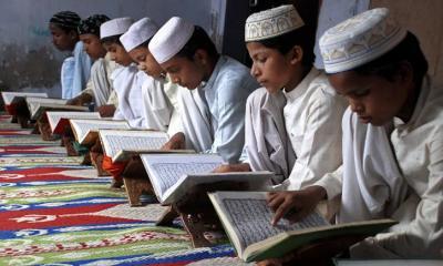 হিন্দু ধর্মগ্রন্থ পড়াবে ভারতের মাদ্রাসা
