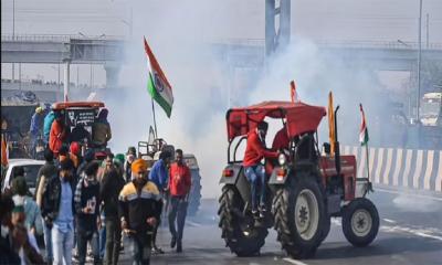 দিল্লির কৃষক আন্দোলনে আহত ৮৬ পুলিশ