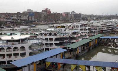 ঢাকা-বরিশাল রুটে লঞ্চ চলাচল বন্ধ