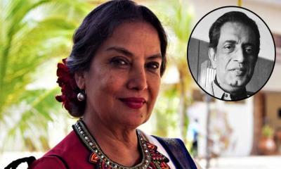 কখনো ভাবিনি সত্যজিতের ছবিতে অভিনয় করব: শাবানা আজমী