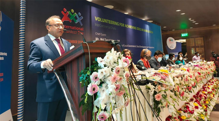 'জাতীয় স্বেচ্ছাসেবক নীতিমালা হবে'