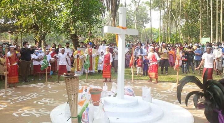 ঝিনাইগাতীতে ওয়ানগালা উৎসব
