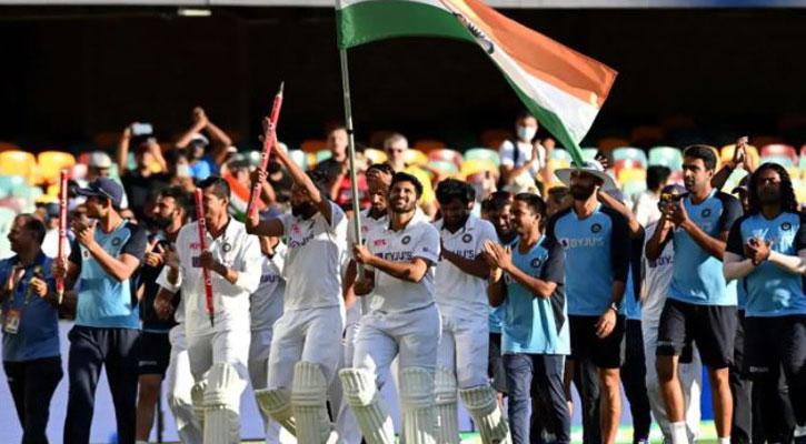 ঐতিহাসিক টেস্ট জয় ভারতের